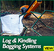 Log and Kindling Bagging Systems