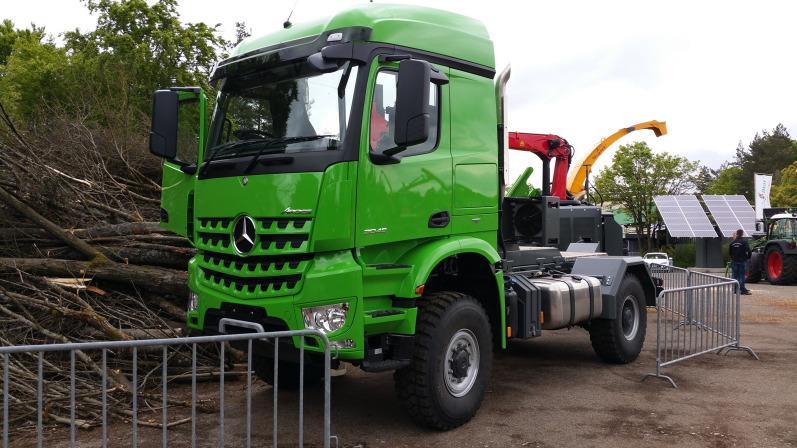 Innovative Heizohack - Mercedes Arocs Truck