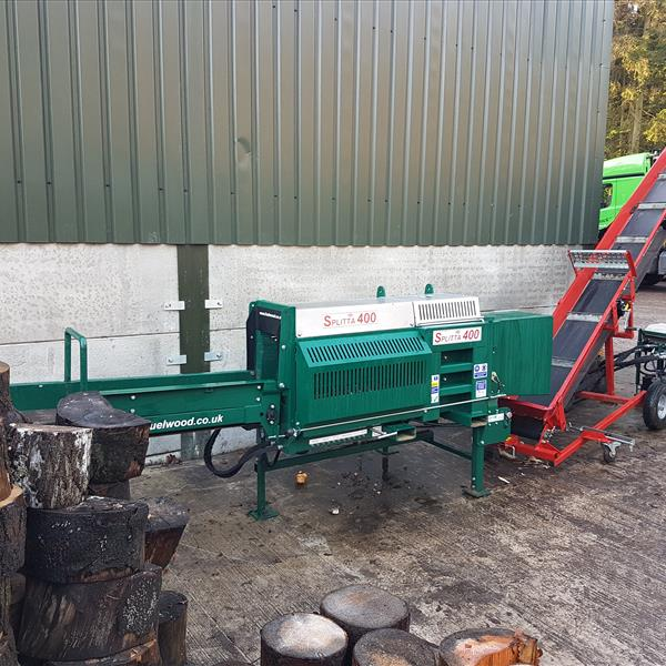 Splitta 400 Automatic High Production Logs And Kindling
