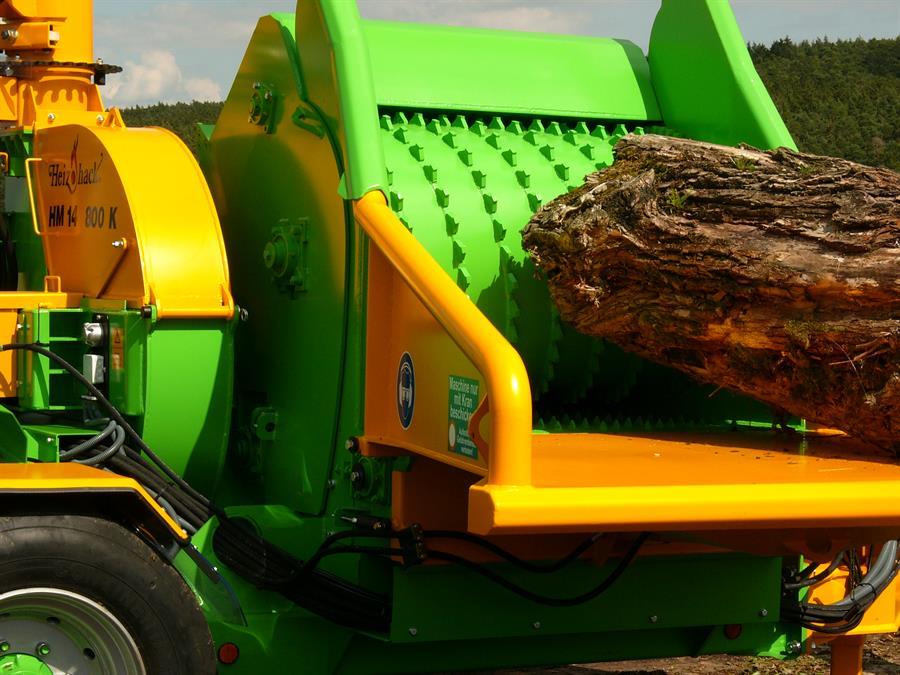 Heizohack Industrial Wood Chipper Hm14 800k