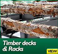 Timber decks and Racks