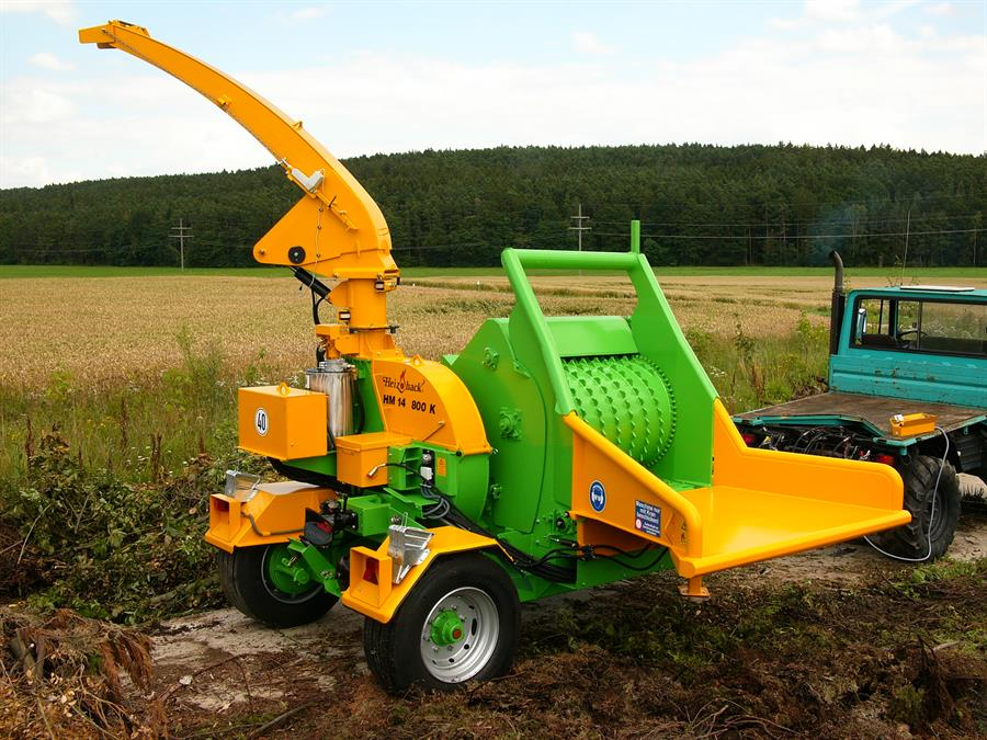 Heizohack Industrial Wood Chipper - HM14-800K