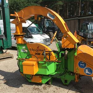 Second Hand HM4-300 3pt Link Chipper