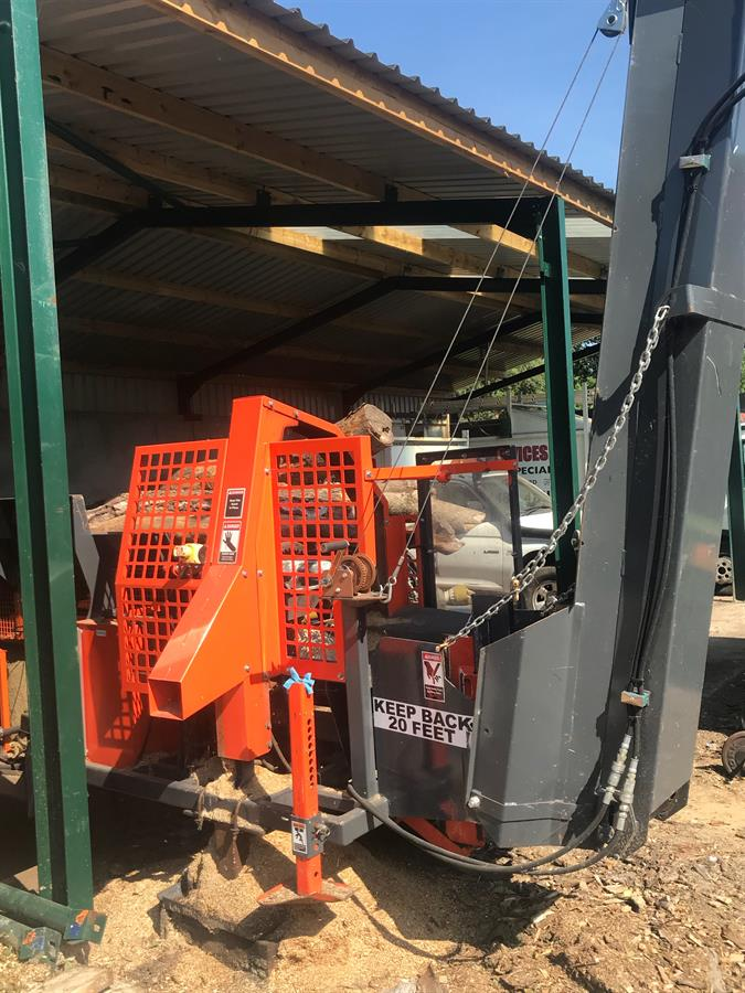 Multitek 1610ez Firewood Processor